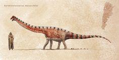 Sarmientosaurus by Hyrotrioskjan on DeviantArt