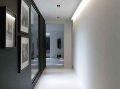 modèle idée déco entrée couloir gris | Decoration