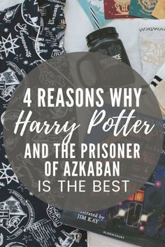 A hotly debated topic amongst Potterheads is which is the best Harry Potter book? Here are all my reasons why the Prisoner of Azkaban is the best in the Harry Potter series! You'll love this post if you're a Harry Potter fan.  #whatshotblog #harrypotter #bookworm #harrypotterfan
