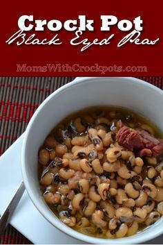 These are so good! Try this  Crock pot Black Eyed Peas Recipe