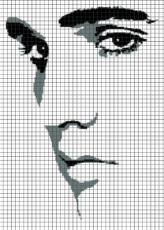 ELVIS Graphghan Pattern  - via @Craftsy