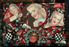 Coca-Cola mosaic