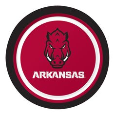 Univ of Arkansas 7 Inch Lunch Plates/Case of 96 Tags: University of Arkansas; Lunch Plates; Collegiate; University of Arkansas Lunch Plates;University of Arkansas party tableware; https://www.ktsupply.com/products/32786325050/Univ-of-Arkansas-7-Inch-Lunch-PlatesCase-of-96.html