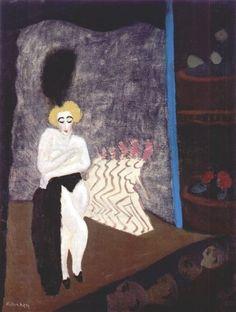 milton avery | Milton Avery, Burlesque 1936