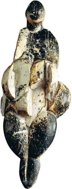 The Venus of Lespugue is a statuette of a nude female figure dated to between 26,000 and 24,000 years ago. It was discovered in 1922 in the Rideaux cave of Lespugue in the foothills of the Pyrenees by René de Saint-Périer