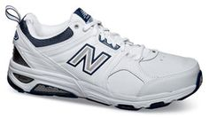 New Balance's new 857 is the ultimate cross-training shoe. Sizes 6-1/2 to 12, 13, 14, 15, 16, 17, 18 in 4E and 6E widths.