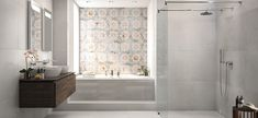 Large bath - Be stylistically confident as you design & install it - Villeroy & Boch Large Baths, Large Bathrooms, Modern Bathrooms, Bathroom Interior Design, Your Design, Bathtub, Relax, Restaurant, Furniture
