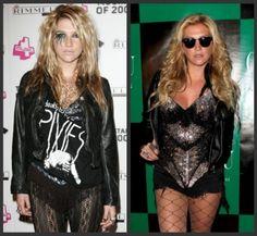 Kesha Halloween Costume How-To - Learn to look like Ke$ha on Halloween - Halloween Costumes Blog
