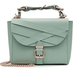 Marina Hoermanseder Leather Shoulder Bag