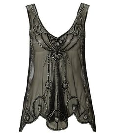 Lipsy Deco Beaded Top - would look hot with some jeans for a sexy night out - ~$58.90 U.S.