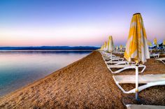 Zlatni Rat Beach Sunset