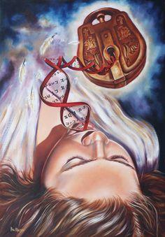 Prophetic oil paintings. The 7 Spirits of God : The Spirit of Wisdom. www.artofkleyn.com