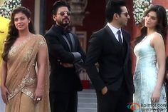 Kajol, Shah Rukh Khan, Varun Dhawan and Kriti Sanon