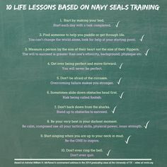 10 Life Lessons from Navy Seals Training.