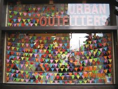 SHANNON LEAHY EVENTS: Urban Outfitters Window Inspiration