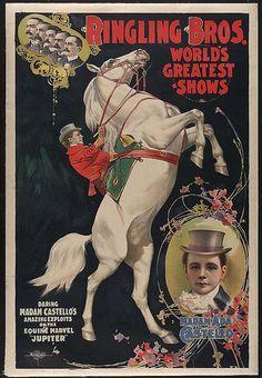 008-Ringling Bros. World's Greatest Shows - Madam Ada Castello 1899-Library of Congress