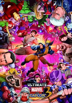 New UMvC3 artwork by Capcom's SHINKIRO.