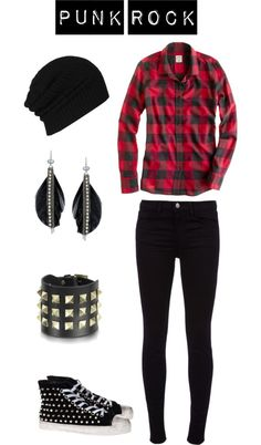 """Punk Rock"" by rnhuntoon on Polyvore"