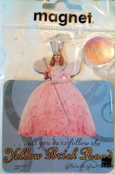 Wizard of Oz Paper House Productions Glinda Good Witch Magnet 3D Magnet #PaperHouseProductions #Magnet #wizardofoz