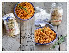 Cajun Dirty Rice Mix in a Frugal Mason Jar Recipe Homesteading  - The Homestead Survival .Com