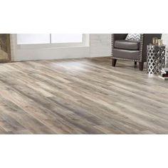 Coastal Oak 7 5 In X 47 6 In Luxury Vinyl Plank Flooring