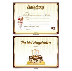 Kindergeburtstags Einladungskarten : Kindergeburtstags Einladungskarten Basteln - Kindergeburtstag Einladung - Kindergeburtstag Einladung