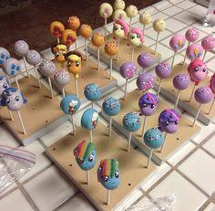 Little pony cake pops