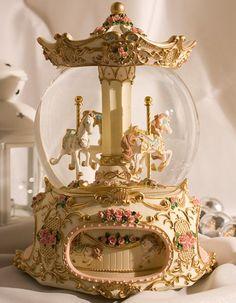 Carousel Snowglobe
