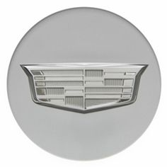 This set of four Cadillac ATS center caps are designed for the ATS 18 Wheels and are Silver with Monochromatic Crest ONLY fits ATS Forged Aluminum whe