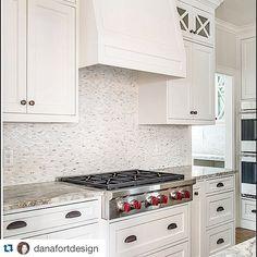 @danafortdesign ・・・ We chose quartzite countertops for durability and timeless appeal in this Tudor renovation. Inset cabinets never hurt either.  @danafortdesign #universitypark @levantinausa @LevantinaDallas #fantasybrown #Levantina #quartzite @artistic_tile
