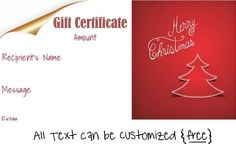 happy holidays gift certificate template massage pinterest gift certificate template gift certificates and certificate - Christmas Gift Certificate Template