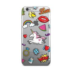This design has a clear background and is printed on a transparent case that will beautifully show off the color of your device. Our phone cases are individual Samsung, Cover, Sweet Treats, Iphone Cases, Prints, Design, Sweets, Candy, Sam Son