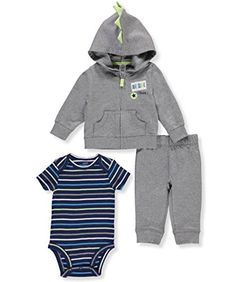 Carter's Baby Boys' 3 Piece Little Jacket Set 9 Months Love You Baby, Childrens Gifts, Carters Baby Boys, Baby Boy Outfits, 3 Piece, Nike Jacket, Toddlers, Hoodies, Jackets