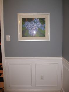 Sweatshirt Gray Paint/ paint all the way to the floor. Just like the color gray w/white trim