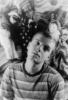 Truman Capote, 1948. Photo: Carl Van Vechten.