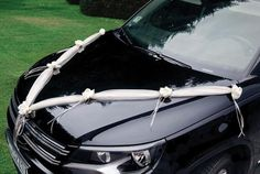 Wedding Car, Mr Mrs, Girls Be Like, Leather Boots, Creme, Etsy, White Ribbon, Ribbon Rose, Tulle Garland