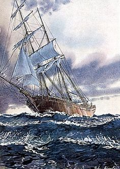 In 1872, the Mary Celeste was found adrift at sea, all (including the captain's wife and young daughter) aboard missing with no sign of struggle or theft, beginning one of the greatest unsolved maritime mysteries of all time.