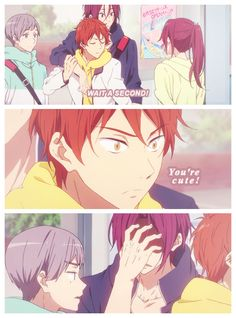 Free! ES ~~ There's no mistake. They're definitely brothers.
