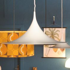 Located using retrostart.com > Semi (60cm Version) Hanging Lamp by Claus Bonderup and Torsten Thorup for Lyskaer