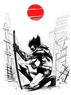 WOLVERINE Japan Relief Auction by *JeffStokely on deviantART