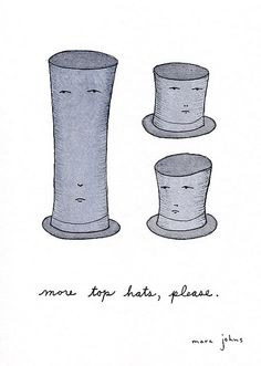 more top hats please
