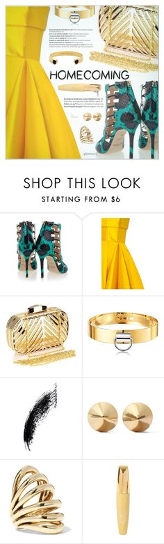 """""""Homecoming Style"""" by befunky ❤ liked on Polyvore featuring Aperlaï, Alex Perry, Chicnova Fashion, Balmain, Eddie Borgo, Lisa Eisner, Kate Spade, polyvorecommunity, Homecoming and PolyvoreMostStylish"""