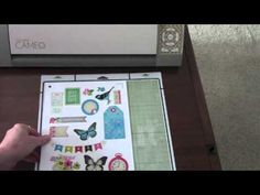 great tutorial Creating Digital Elements with the Silhouette Cameo - YouTube