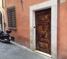 Rome, Italy - June 14, 2015 *Vicolo delle Coppelle