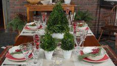 Prepare a mesa para o Natal com elegância e originalidade