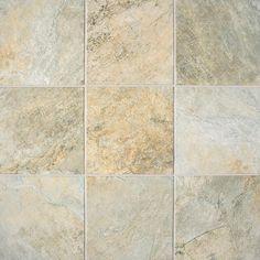 Franciscan Slate Tile by Bel Terra from Carpet One; COLOR - DESERT CREMA