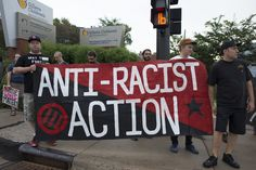 Anti-racism rally - Counter protest to confederate flag rally