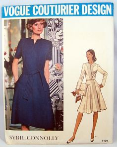 Vintage Vogue 1121 Couturier Design