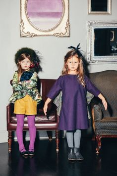 A more modern party look from Aristocrat Kids for girls fashion fall 2014