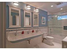 Traditional Kids Bathroom - Come find more on Zillow Digs!